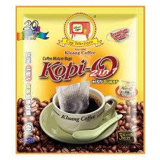 Black Coffee Bag (2in1) with Sugar 20s