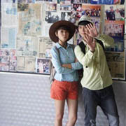 Chen Hui Tian & Rickman (8TV Shooting)